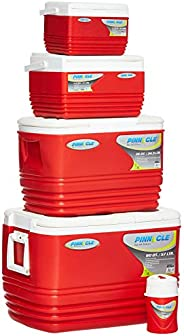 Pinnacle Ice Chest 5 Pieces Set, Red - Tpx60009_Red