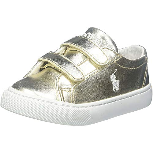 Polo Ralph Lauren Slater Ez C Gold Synthetik 30 EU (Polo Ralph Lauren Sneaker Kinder)