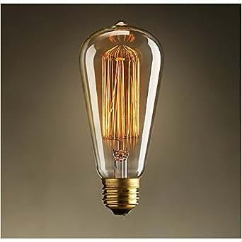 Ampoule E27 filament incandescente 40W – Blanc chaud
