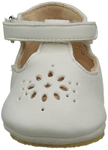 Easy Peasy LILLYP, Chaussons pour enfant mixte bébé Blanc - Weiß (007 Blanc)
