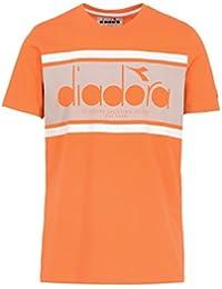 Diadora Sport 502161924 SS BL Camiseta, Hombre, BLU, Large