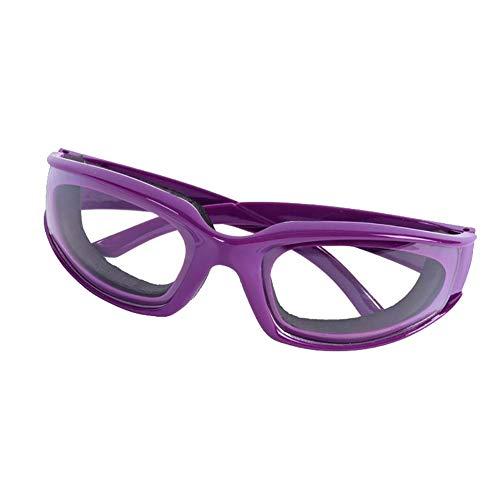 Seguridad hogar Cebolla Gafas Gafas Rebanadas Cortar