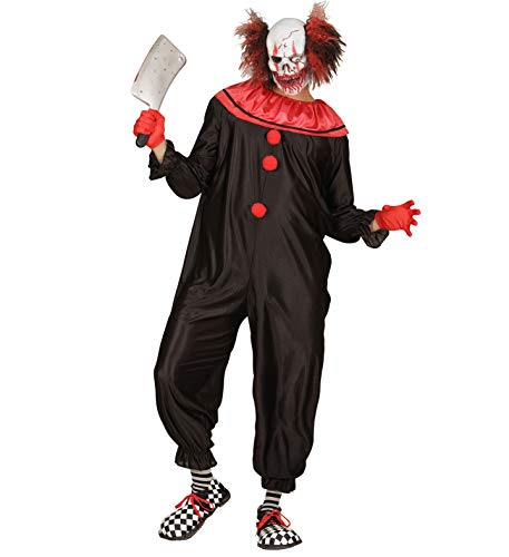 Psycho Killer Clown Kostüm - 24costumes Killer Clown Kostüm | komplett
