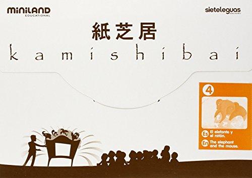 Elefante Y El Raton, El - Kamishibai Mini A4