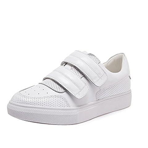 Ladola Dgug00065, Sandales Compensées femme - blanc - blanc,