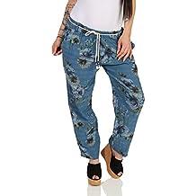 3922556de7 ZARMEXX Pantalones Jogg de para Mujer Pantalones Casuales de algodón  Relajado Novios Casuales Aspecto Usado