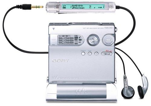 Sony MZ-N910/s  MP3-MiniDisc-Rekorder silber