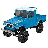 TIMEMEAN Auto Radiocomandata Front Light 1:12 4WD RC Auto Fuoristrada Militare Rock Crawler Truck