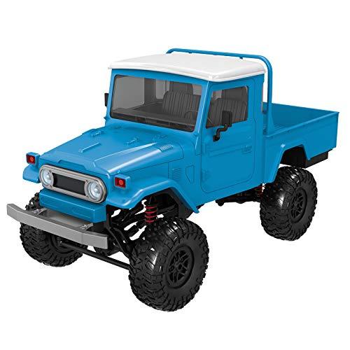 BHYDRY Front LED Licht 1:12 4WD RC Auto Offroad Militär Rock Crawler Truck (Taucher Kostüm Diy)