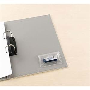 elba lot de 10 pochettes autocollantes pour cl usb en pp. Black Bedroom Furniture Sets. Home Design Ideas