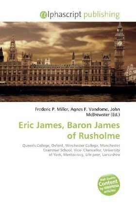 Eric James, Baron James of Rusholme