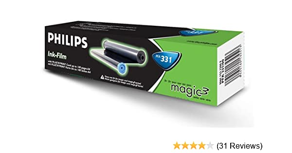 1 X Kompatibler Inkfilm  Philips Fax Magic 3 PFA PFA 331 Mit Chipkarte