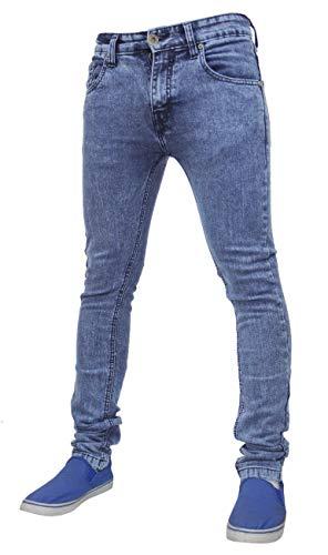 True Face jeans da uomo skinny slim TF021 Mid Blue 30W x 32L