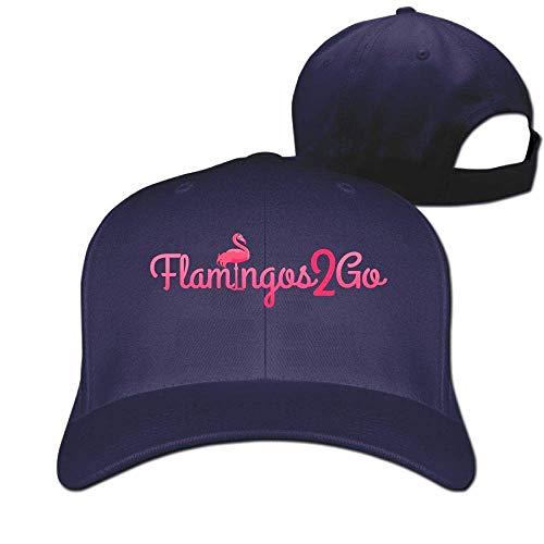 Xukmefat Classic Cotton Hat Adjustable Plain Cap, Flamingos 2 Go Plain Baseball Cap Adjustable Size Curved Visor Hat O9100 Nascar-visor Hat