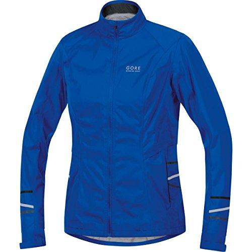 Gore Running Wear Damen Regen-Laufjacke, GORE-TEX Active, MYTHOS LADY 2.0 GT AS Jacket, Größe 40, Blau, JGAMYL