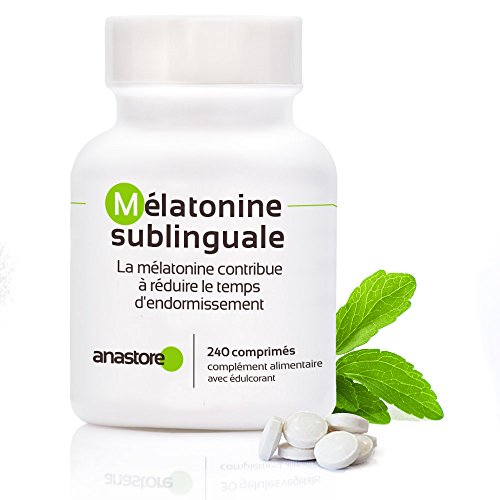 MELATONINA SUBLINGUAL | Pureza garantizada superior al 99% | 1.8 mg / 120 dosis | Estevia (Aroma de limón)| Regulador del reloj interno | Trastorno del sueño | Pureza garantizada y controlada por laboratorios independientes | Fabricado en Francia … (Limón, 1 unidad)