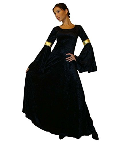 Maylynn 10923XL médiéval Costume Anneaux Dream, Extra Large, Noir