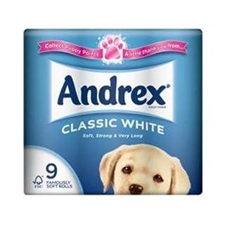 Andrex 5 x 9pk (45 Roll's)