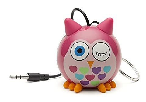 KitSound Mini Buddy and Portable Rechargeable Universal Wired Speaker with USB Charging Cable Compatible with Smartphones