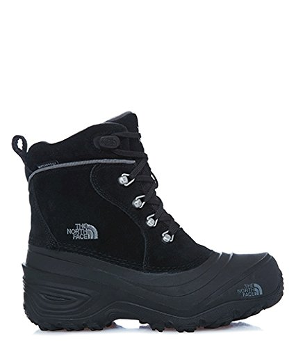 The North Face Y Chilkat Lace Ii, Sneakers basses mixte enfant Mehrfarbig (Tnf Blk/Zinc Gr Kz2)