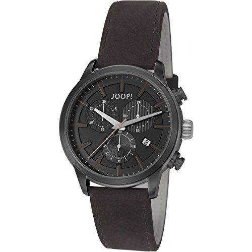 Joop. Men's Quartz Watch with Chronograph Quartz Leather JP101751002Richard