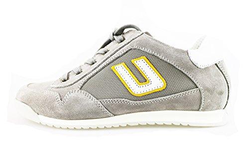 CESARE PACIOTTI 4 US sneakers bambino grigio camoscio tessuto AH951 (32 EU)