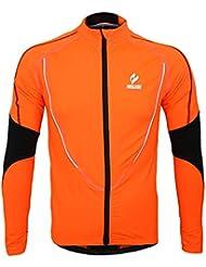 Docooler Vêtements Veste Manteau Chaude Vêtement d' Hiver Jersey à Manches Longues Veste Courir Excercise Vélo Bike Sports de Plein Air