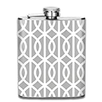 The shot flask is large enough to hold 7 ounces of your favorite liquor, whether it's whiskey, vodka, rum, scotch, gin, tequila or something else.