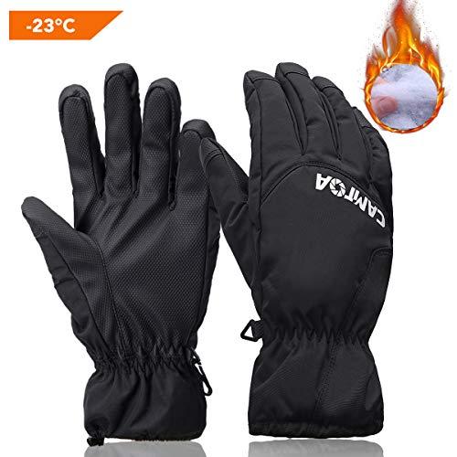 camtoa guanti da sci nero nero l