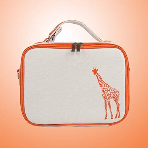 Crsm pacchetto di imballaggio portatile di tela da imballaggio portatile da viaggio per studenti scatola da pranzo borsa da pranzo foglio di alluminio sacchetto da picnic fresco 2 26 * 19 * 8 cm