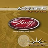 Stagg AC-1356-BR Cordes pour Guitare acoustique - Medium