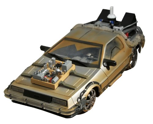 Diamond Select Back to The Future III - 1/15th Scale Time Machine (Back To The Future Time Machine)