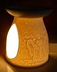 Idea Regalo - Diffusore Per Essenze Porcellana Angeli