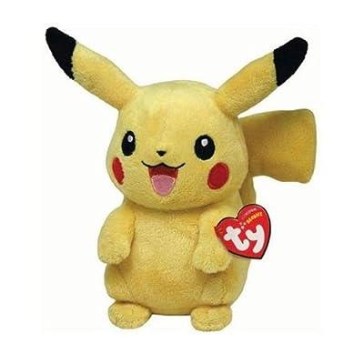 Ty Pokemon Pikachu - Peluche, 15 cm por Ty