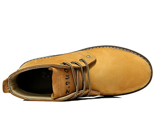 Insun ,  Herren Chukka Boots Camel