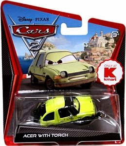 disney-pixar-cars-2-acer-with-torch-voiture-miniature-echelle-155-kmart