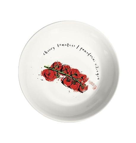 Ruth Jackson 24 cm Tomatoe Bol en porcelaine Couleurs assorties