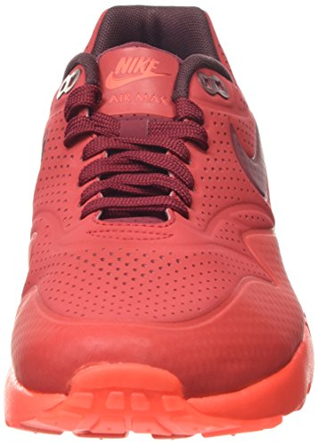 Nike Air Max 1 Ultra Moire, Chaussures de Sport Homme Rojo (Gym Red/Team Red-Unvrsty Red)