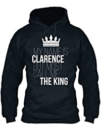 teespring Men's Novelty Slogan Hoodie - Clarence Most Call Me The King