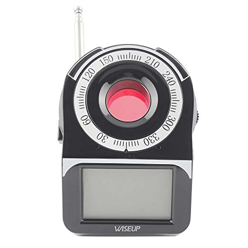wiseup-wireless-rf-gsm-bug-detector-covert-pinhole-spy-camera-finder-anti-spy-detector-with-lcd-scre