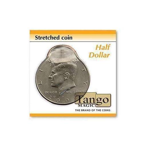 SOLOMAGIA-Stretched-Coin-Half-Dollar-by-Tango-Magic-Magie-mit-Tuch-Zaubertricks-und-Magie