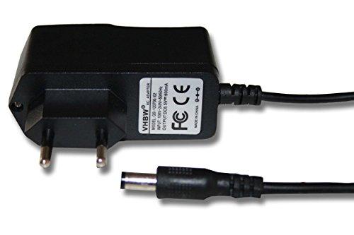 vhbw 220V Netzteil Ladegerät Ladekabel (6.5V/0.6A) für Siemens Gigaset A160, A165, A260, A265, A380, A385, A580, A585, AC160, AC165, AL140, AL145.
