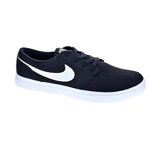Nike SB Portmore II Ultralight, Zapatillas de Skateboarding para Hombre, Negro (Black/White 010), 42.5 EU