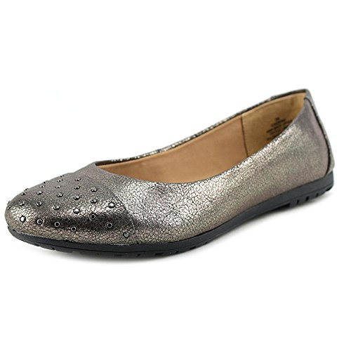 Easy Spirit Adrina Large Synthétique Chaussure Plate Pewter