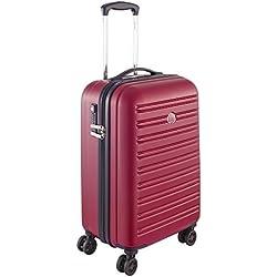 Delsey Paris Segur Maleta, Rojo (Rouge), 55 cm / 43 liters