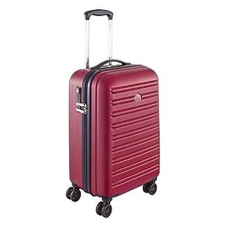 Delsey Equipaje de cabina, rojo (Rojo) – 00203880104