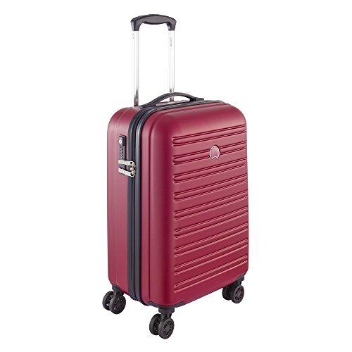 DELSEY PARIS SEGUR Valise, 55 cm, 43 litres, Rouge