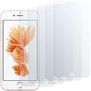 iPhone 6s Displayschutzfolie - 5 Stück - moodie Premium Folien Kristallklar für Apple iPhone 6s (4,7 Zoll)