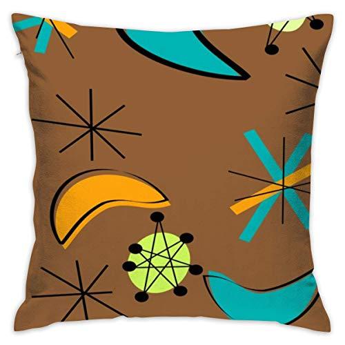 "tiao9143 Kissen werfen,Zierkissenbezüge,Atomic Boomerangs Pillow Cover 18\""X18\""Pillow Case Cushion for Sofa Decorative"