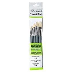 Winsor & Newton Foundation Oil Brush (Pack Of 6)
